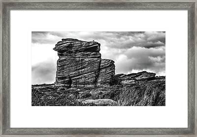 Rook Rock Framed Print