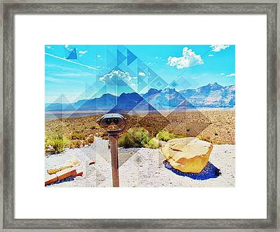 Room For A View Framed Print