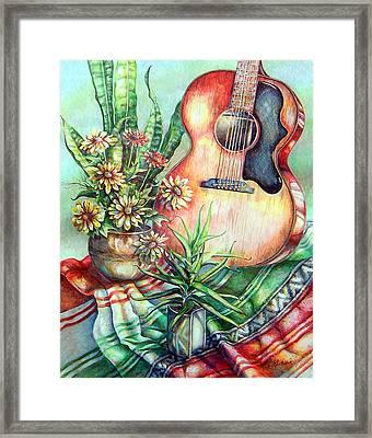 Room For Guitar Framed Print