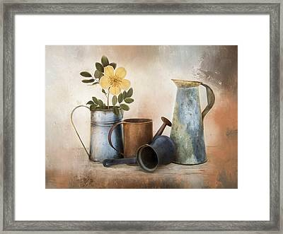 Framed Print featuring the photograph Room For More by Robin-Lee Vieira