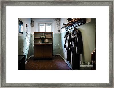 Room For The Kgb Prison Guards Framed Print