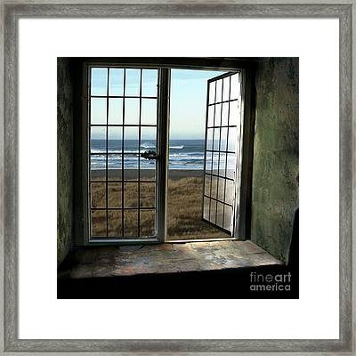 Room For Two And A Ocean Breeze Framed Print