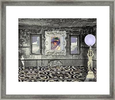 Room In The Sky Framed Print by Mindy Sommers