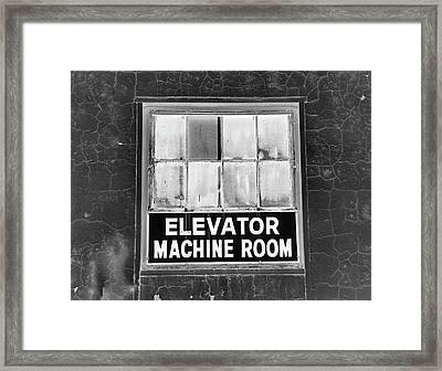 Framed Print featuring the photograph Room by Robert Geary