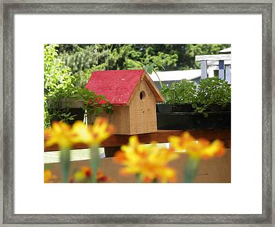Room To Rent Fifty Cents Framed Print by Laurie Kidd