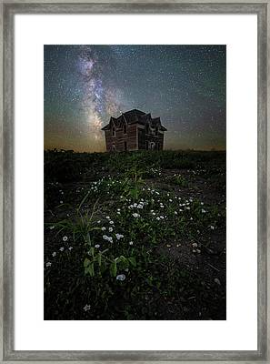 Framed Print featuring the photograph Room With A View by Aaron J Groen