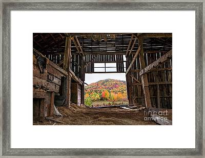 Room With A View Framed Print by Benjamin Williamson