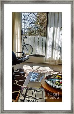 Framed Print featuring the photograph Room With A View by Bill Thomson
