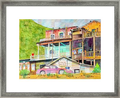 Room With A View Framed Print by Don Harvie