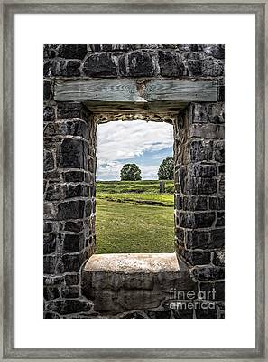 Room With A View Framed Print by Edward Fielding