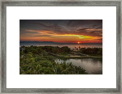 Room With A View Framed Print by Edward Kreis
