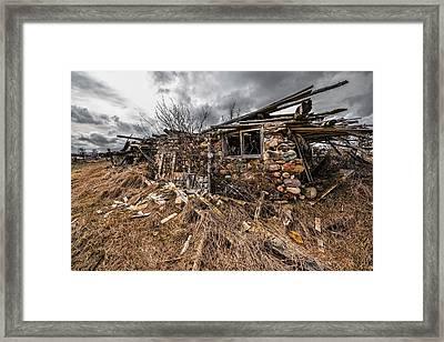 Brimstone Framed Print