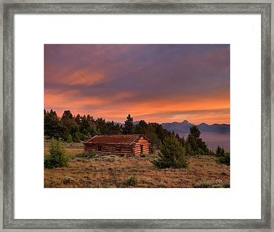 Room With A View Framed Print by Leland D Howard