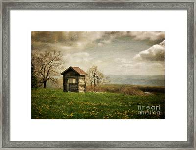 Room With A View Framed Print by Lois Bryan