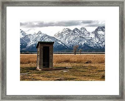 Room With A View Framed Print by Nicholas Blackwell