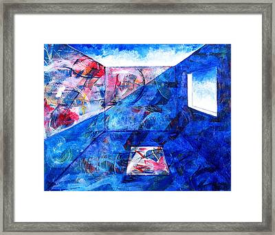 Room With A View Framed Print by Rollin Kocsis