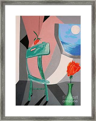 Room With A View #1 Framed Print