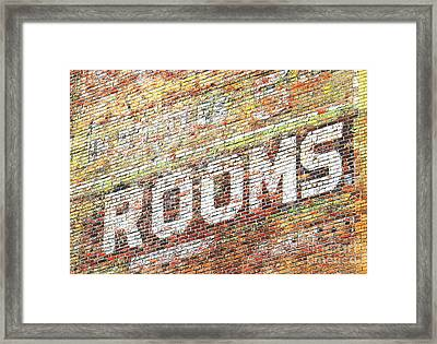 Rooms Framed Print by Ethna Gillespie