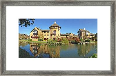 Rooms With A View Framed Print by Gill Billington
