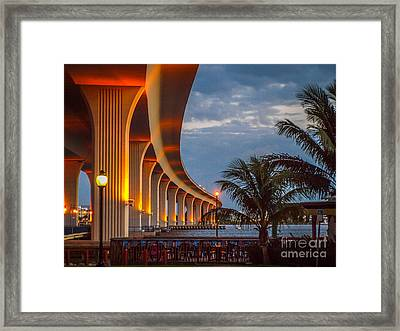 Roosevelt At First Light Framed Print