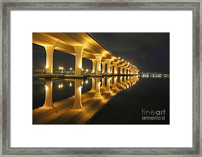 Roosevelt Reflection Framed Print