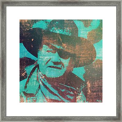 Rooster Cogburn Framed Print by Brian Broadway