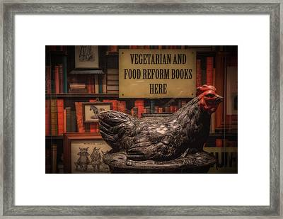 Framed Print featuring the photograph Rooster by Tim Nichols
