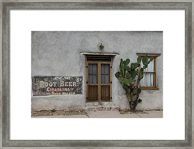 Root Beer And Chardonnay? Framed Print