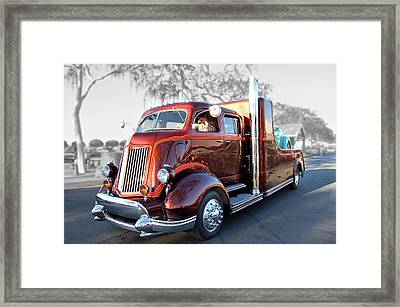 Root Beer Hauler Framed Print by Bill Dutting