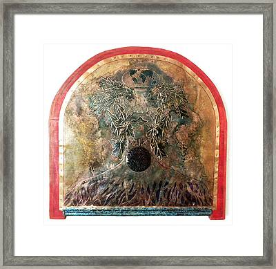 Rooted Imperative - Unlit Framed Print