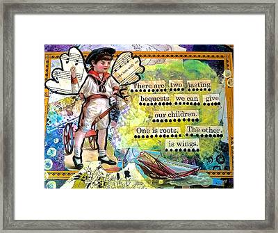 Roots And Wings Framed Print