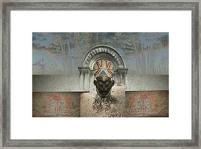 Roots Framed Print by Fern Logan