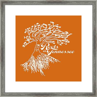 Roots In Tennessee Framed Print