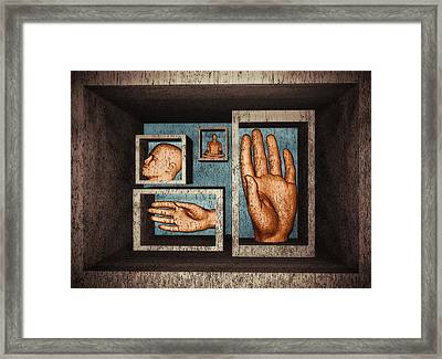 Roots Of Creativity Framed Print