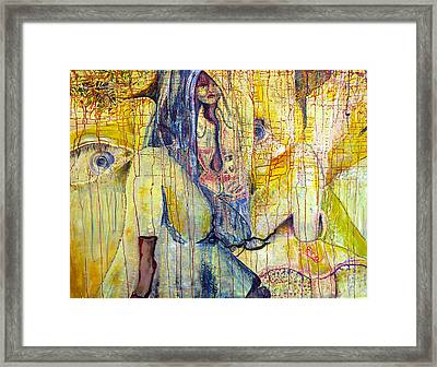 Roots  Framed Print by Peggy  Blood