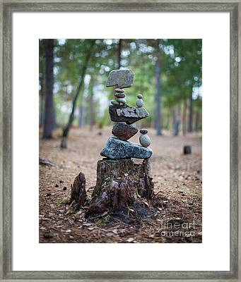 Roots Rock Framed Print