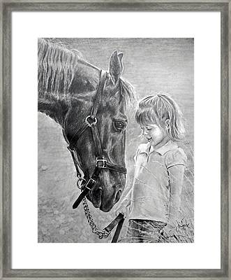 Rooty And Ella Framed Print by James Foster