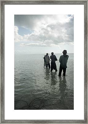 Rope Haul Framed Print by Marcus Best