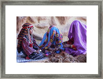 Rope Makers Framed Print