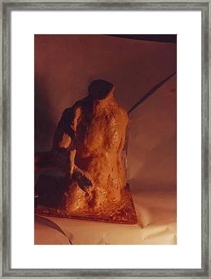 Rope Puller Framed Print by William Zeidlik