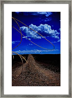 Rope The Road Ahead Framed Print