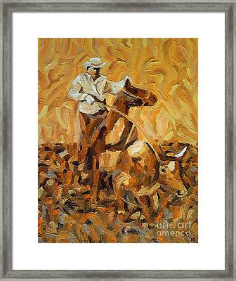 Roper II Framed Print by Lowell Smith