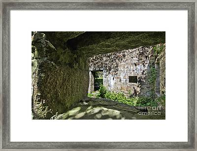 Ropery Buildings  Hayle Framed Print