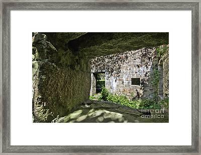 Ropery Buildings  Hayle Framed Print by Terri Waters