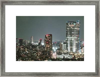 Roppongi From Tokyo Tower Framed Print