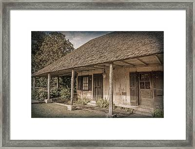 Roque House Framed Print by Jim Cook