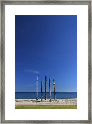 Roquettas 2 Framed Print by Jez C Self