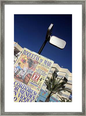 Roquettas 20 Framed Print by Jez C Self