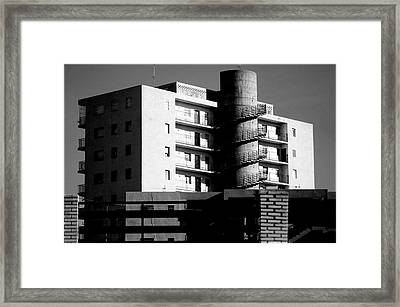 Roquettas 21 Framed Print by Jez C Self