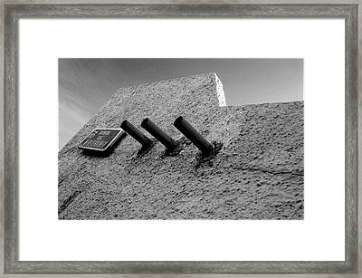 Roquettas 24 Framed Print by Jez C Self